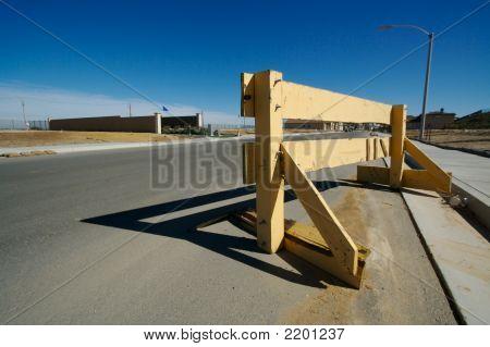 Wood Blockade