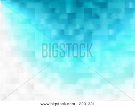 Abstract Blue Background With Light Effect