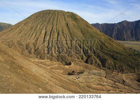 Sunrise on Volcano Batok. Java island. Indonesia.