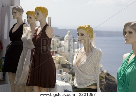 Mannequins By The Sea
