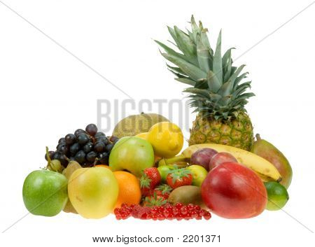Lots Of Fresh Fruit