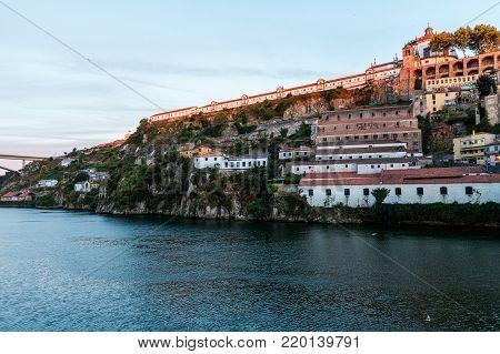 17th-century Monastery Serra do Pilar in Porto, Portugal. UNESCO World Heritage since 1996.