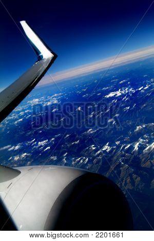 Flying At 42,000 Feet