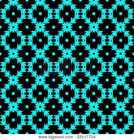 Abstract background of seamless dots and checkered pattern poster