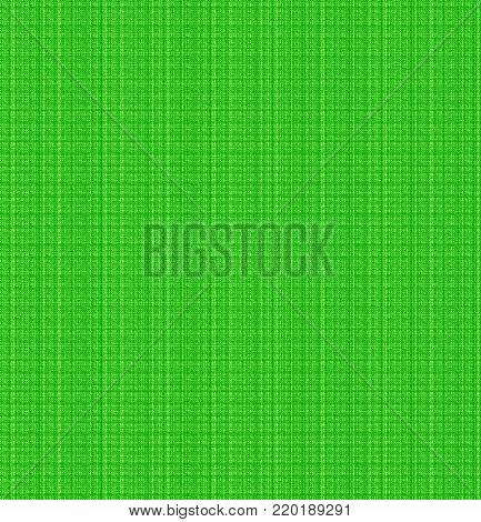 green textile cloth wool cross stitch tela