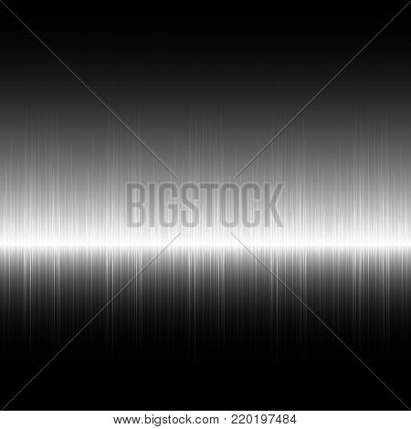 Abstract digital background with grayscale equalizer Sound equalizer