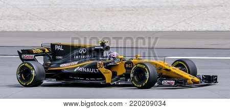 Jolyon Palmer Of Renault Sport Formula One Team