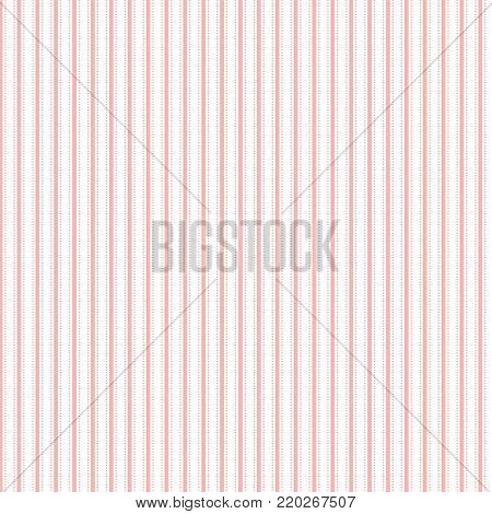 Pink Pillow Ticking Stripe Seamless Pattern. EPS file has global colors for easy color changes.