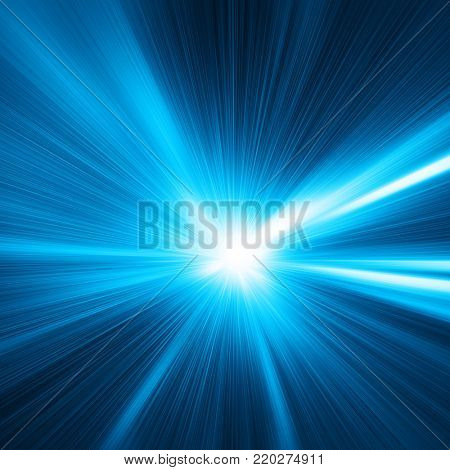 Abstract toned image of speed motion.