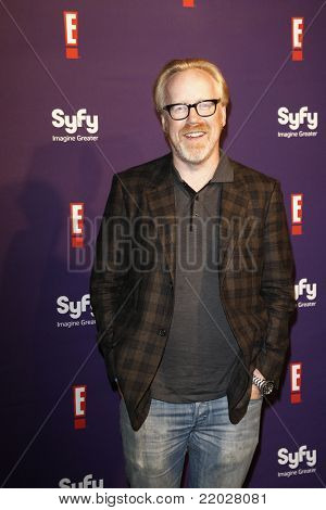 SAN DIEGO - JUL 23: Adam Savage at the SyFy/E! Comic-Con Party at Hotel Solamar in San Diego, California on July 23, 2011.