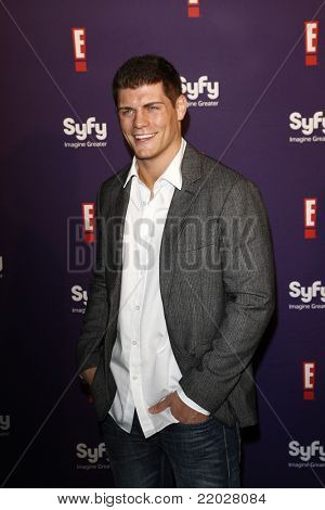 SAN DIEGO - JUL 23: Cody Rhodes at the SyFy/E! Comic-Con Party at Hotel Solamar in San Diego, California on July 23, 2011.