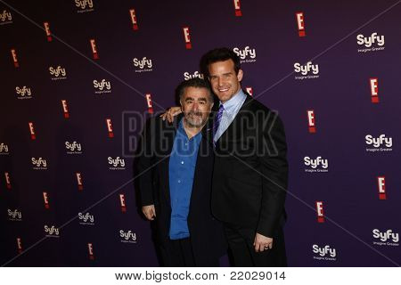 SAN DIEGO - JUL 23: Saul Rubinek; Eddie McClintock at the SyFy/E! Comic-Con Party at Hotel Solamar in San Diego, California on July 23, 2011.