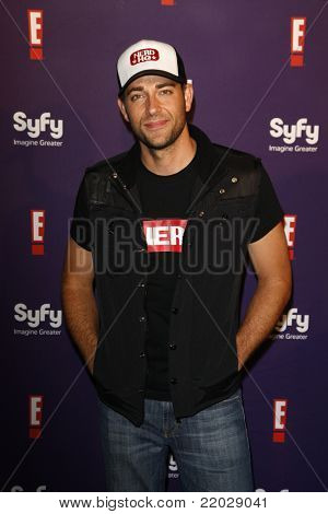 SAN DIEGO - JUL 23: Zachary Levi at the SyFy/E! Comic-Con Party at Hotel Solamar in San Diego, California on July 23, 2011.