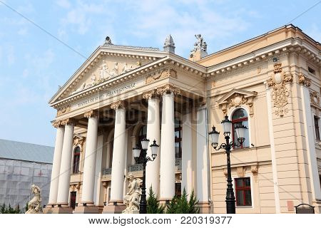 National Theater In Oradea