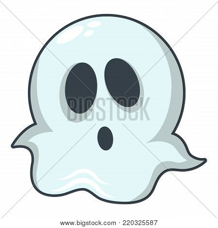 Ghost icon. Cartoon illustration of ghost vector icon for web
