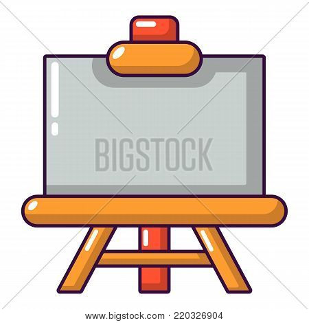 Canvas icon. Cartoon illustration of canvas vector icon for web