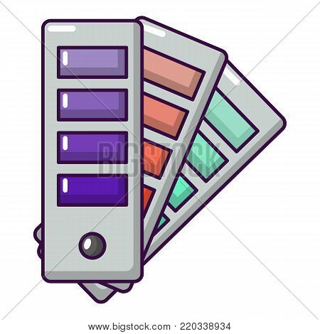 Palette guide icon. Cartoon illustration of palette guide vector icon for web