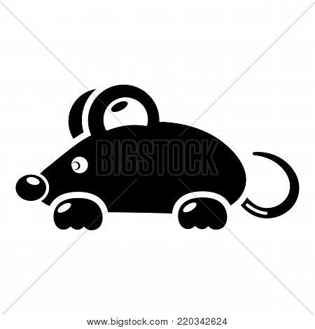 Mouse icon. Simple illustration of mouse vector icon for web