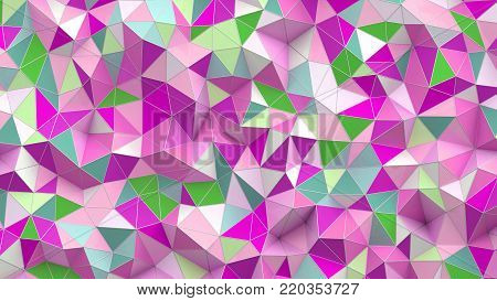 3d illustration. Image of Abstract background with poly