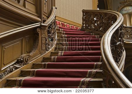 Stairs With Carpet Strip
