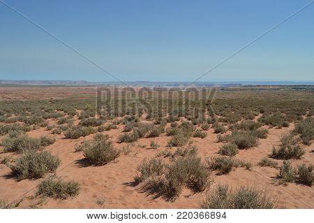 Desert Next To Horse Shoe Bend