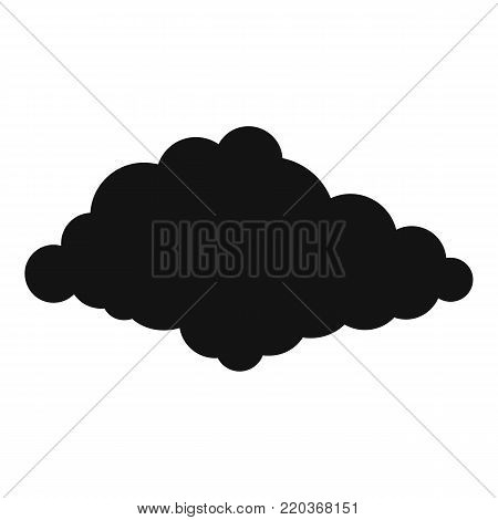 Cloudiness icon. Simple illustration of cloudiness vector icon for web