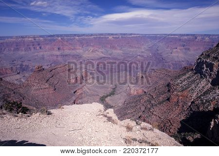 The breath taking Grand Canyon National Park in Arizona