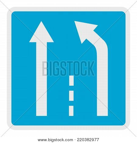 End of the strip icon. Flat illustration of end of the strip vector icon for web.