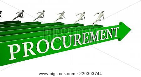 Procurement Opportunities as a Business Concept Art 3d Render