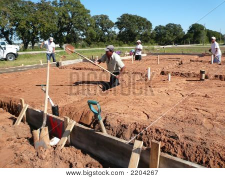 Digging A Foundation