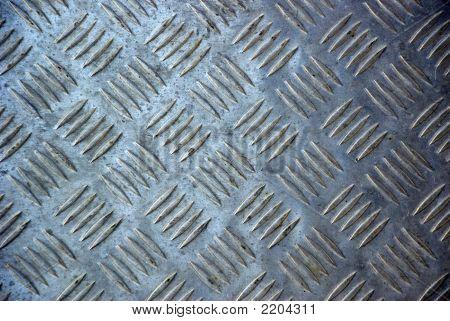 Stamped Metal Sheet Pattern