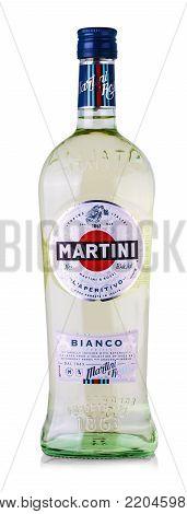 CHISINAU, MOLDOVA - December, 15: 2017:  Martini a famous Italian vermouth is the world