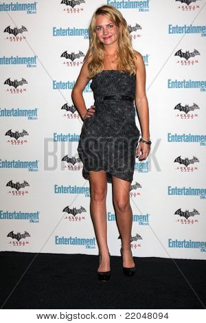 LOS ANGELES - JUL 23:  Britt Robertson arriving at the EW Comic-con Party 2011 at EW Comic-con Party 2011 on July 23, 2011 in Los Angeles, CA