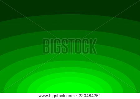 Abstract striped concentric - green background, Ellipse pattern,