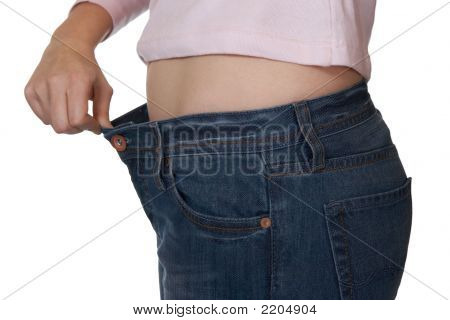 Hand And Jeans - Weight Loss