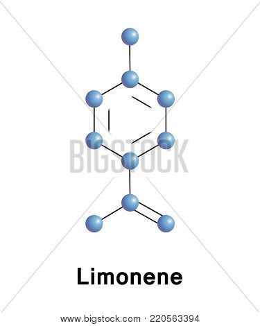 Limonene is a clear, colorless liquid hydrocarbon classified as a cyclic monoterpene, and is the major component in oil of citrus fruit peels