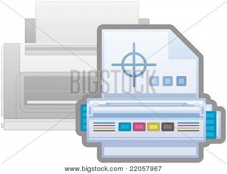 Laserjet Printer Cartridges Icon