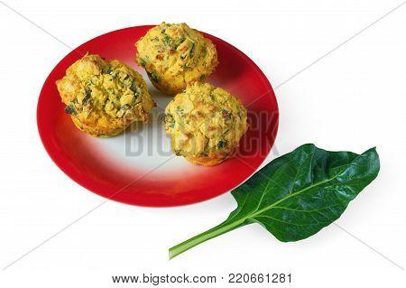 Proja - Balkan bread from corn  - with leaf of chard (blitva)