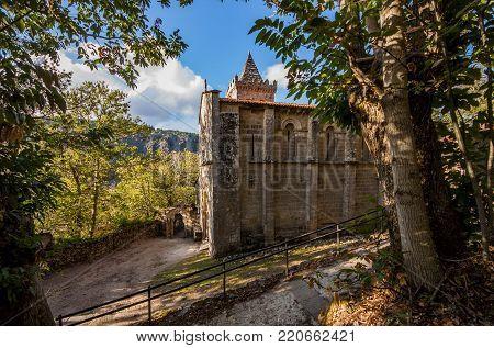 Benedictine monastery of Holy Cristina de Ribas de Sil
