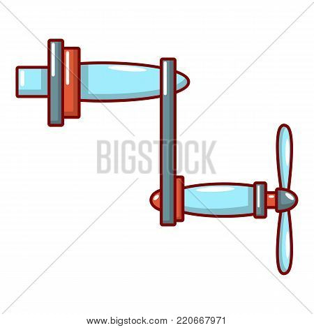 Rotary handle icon. Cartoon illustration of rotary handle vector icon for web.