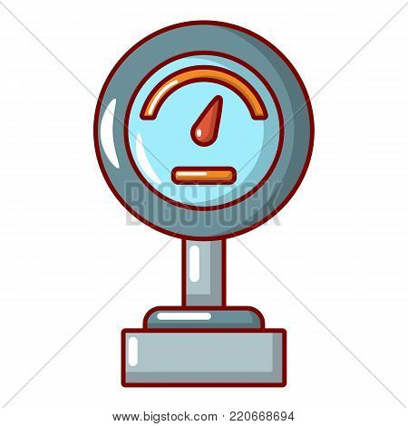 Commercial scale icon. Cartoon illustration of commercial scale vector icon for web.