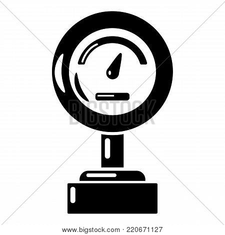 Commercial scale icon. Simple illustration of commercial scale vector icon for web.