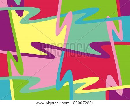 background illustration abstract lines simple random color soft glimpses
