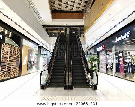 RISHON LE ZION, ISRAEL- JANUARY 3, 2018: Inside the Department Store in Rishon Le Zion, Israel
