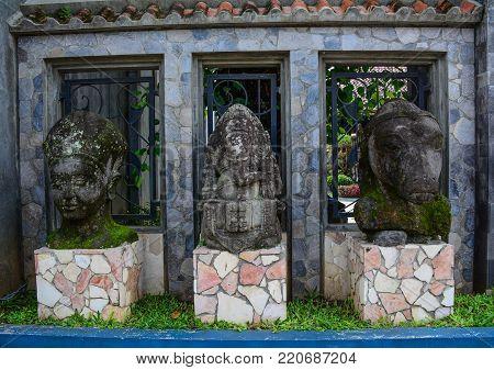 Buddha Statue In Borobudur Temple