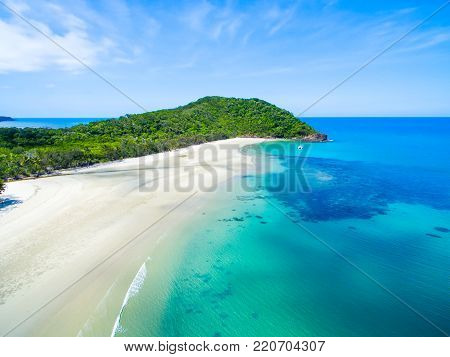 Cape Tribulation beach in Tropical North Queensland