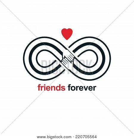 Friends Forever Vector Photo Free Trial Bigstock