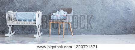 Blue Child's Bedroom