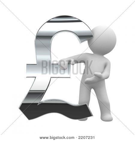 Pound Chrome Symbol