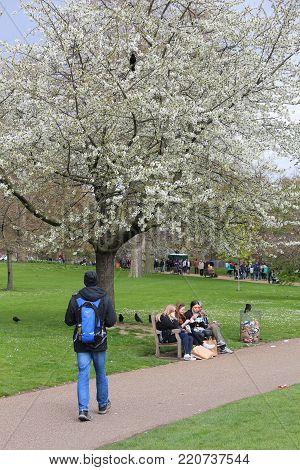 London Spring Time